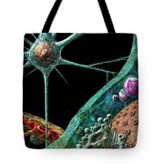 Prions Tote Bag by Russell Kightley