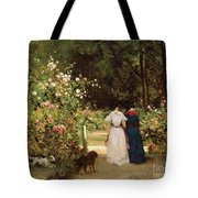 Promenade Tote Bag by Constant-Emile Troyon