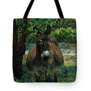Provence Donkey Tote Bag by Nadine Rippelmeyer