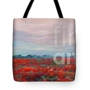 Provence Poppies Tote Bag by Nadine Rippelmeyer