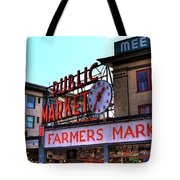 Public Market II Tote Bag by David Patterson