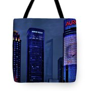 Pudong - Epitome Of Shanghai's Modernization Tote Bag by Christine Till