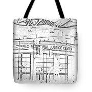 Pueblo Municipal Justice Center 2 Tote Bag by Lenore Senior