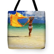 Punaluu Beach Vacation Tote Bag by Tomas del Amo - Printscapes