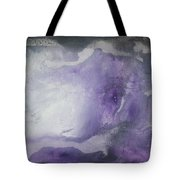 Purple Explosion By Madart Tote Bag by Megan Duncanson
