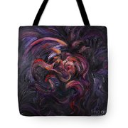 Purple Passion Tote Bag by Nadine Rippelmeyer