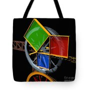 Pythagorean Machine Tote Bag by Russell Kightley