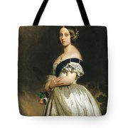Queen Victoria Tote Bag by Franz Xaver Winterhalter