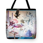 Quiet Afternoon At The Studio Tote Bag by Otto Rapp