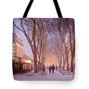 Quincy Market Stroll Tote Bag by Susan Cole Kelly