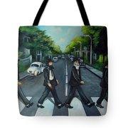 Rabbi Road Tote Bag by Valerie Vescovi