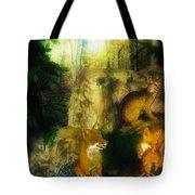 Rabbit Season Tote Bag by Bill Cannon