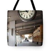 Railway Station Clock Tote Bag by Deyan Georgiev