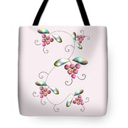 Rainbow Berries Tote Bag by Anastasiya Malakhova