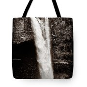 Rainbow Falls 2 - Sepia Tote Bag by Christopher Holmes