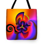 Rainbow Infusion Tote Bag by Claude McCoy