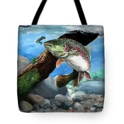 Rainbow Tote Bag by Kathleen Kelly Thompson