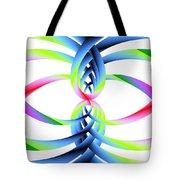 Rainbow Loops Tote Bag by Michael Skinner