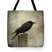 raven Tote Bag by Elena Nosyreva