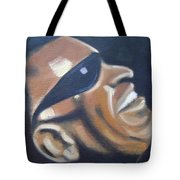 Ray Charles Tote Bag by Toni Berry