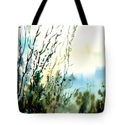Reaching The Sky Tote Bag by Anil Nene
