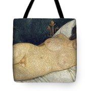 Reclining Female Nude Tote Bag by Paula Modersohn-Becker