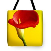 Red Calla Lilly  Tote Bag by Garry Gay