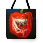 Red Pepper Oil Painting Tote Bag by Natalja Picugina