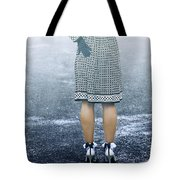 Red Umbrella Tote Bag by Joana Kruse