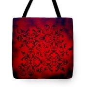 Red Velvet By Madart Tote Bag by Megan Duncanson