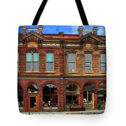 Redmens Hall - Jacksonville Oregon Tote Bag by James Eddy