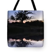 Reflecting Tree Tote Bag by Bill Cannon