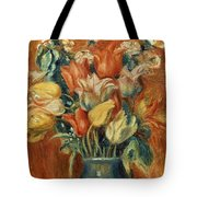 RENOIR: BOUQUET OF TULIPS Tote Bag by Granger