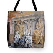 Reposo En El Vaticano Tote Bag by Tomas Castano