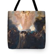Resurrection of the Dead Tote Bag by Victor Mottez