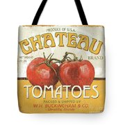 Retro Veggie Labels 4 Tote Bag by Debbie DeWitt