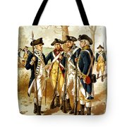 Revolutionary War Infantry Tote Bag by War Is Hell Store