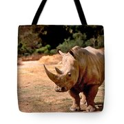 Rhino Tote Bag by Steve Karol
