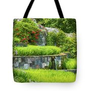 Rice Garden Tote Bag by Wim Lanclus