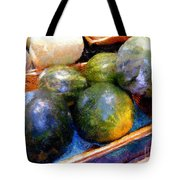 Ripe And Luscious Melons Tote Bag by RC DeWinter