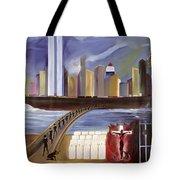 River Of Babylon  Tote Bag by Ikahl Beckford
