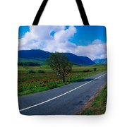 Road From Westport To Leenane, Co Mayo Tote Bag by The Irish Image Collection