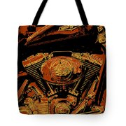 Road King Tote Bag by Gary Grayson