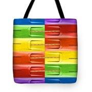 Road Runner Rainbow Tote Bag by Gordon Dean II