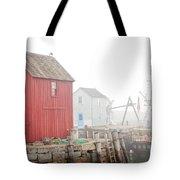 Rockport Fog Tote Bag by Susan Cole Kelly