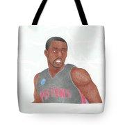 Rodney Stuckey Tote Bag by Toni Jaso