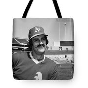 Rollie Fingers (1946- ) Tote Bag by Granger
