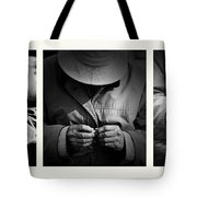 Rolling His Own Tote Bag by Avalon Fine Art Photography