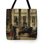 Roman Art Lover Tote Bag by Sir Lawrence Alma-Tadema