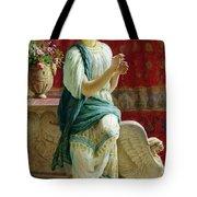 Roman Girl Tote Bag by Guglielmo Zocchi